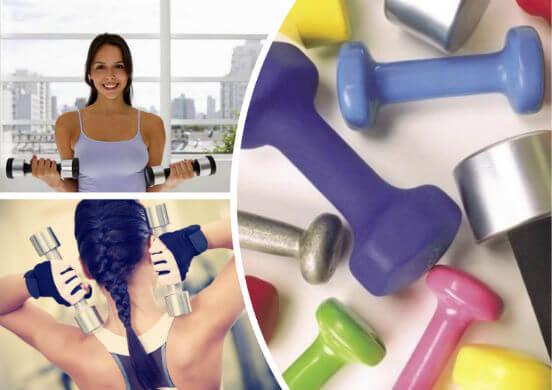 Тренировка с гантелями дома - лучшие упражнения для похудения и укрепления мышц для девушек и женщин
