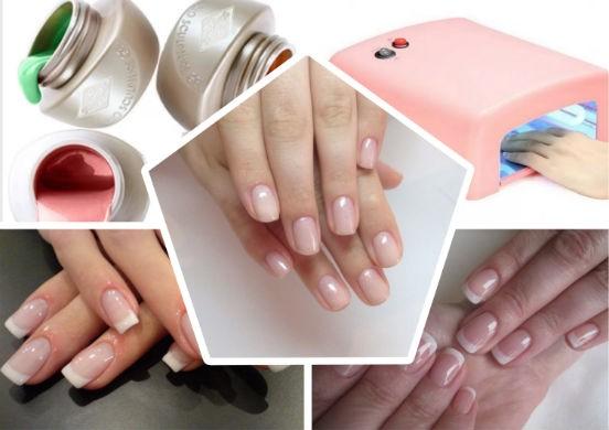 Как укрепить ногти гелем в домашних условиях пошаговая 891