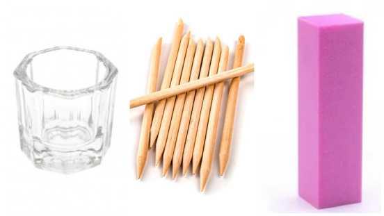 Что нужно для наращивания ногтей акрилом - самый полный список инструментов и материалов