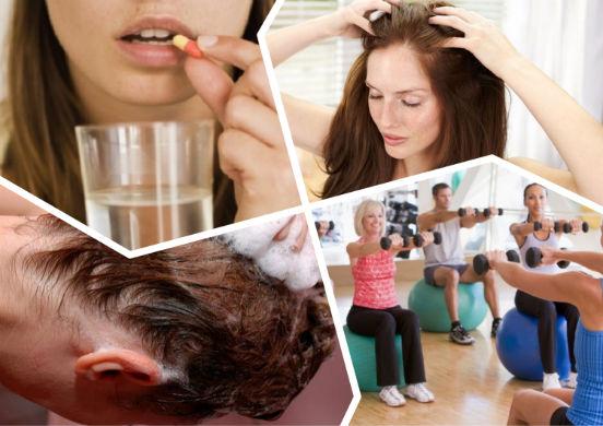 Почему выпадение волос может сопровождаться жжением кожи головы и как спасти свои локоны?