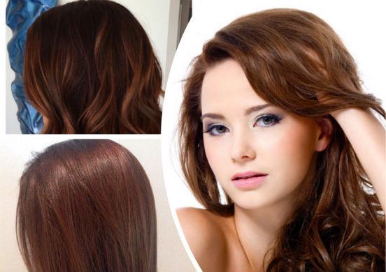Превращаемся в шатенку или можно ли хной покрасить волосы в каштановый цвет?