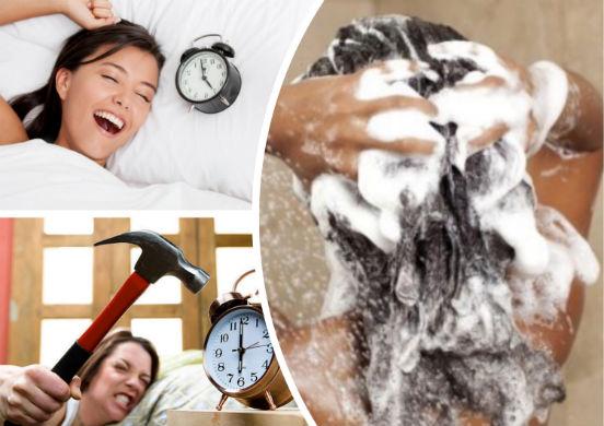 Утро или вечер - какое время суток лучше выбрать для мытья своей головы?