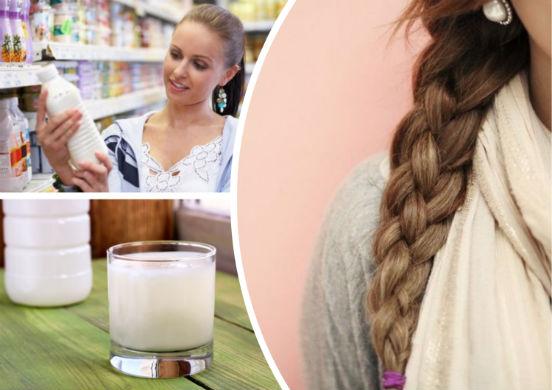 Рецепты натуральных шампуней для волос на кефире