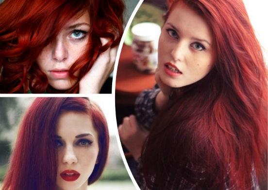 Красные оттенки с помощью хны - натуральный и безопасный способ изменить свой цвет волос