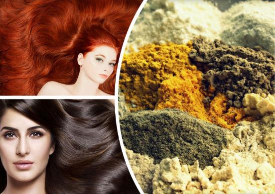 Хна или химическая краска - все за и против окрашивания волос натуральным средством
