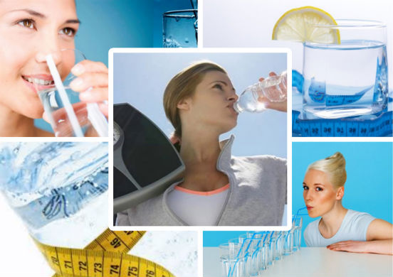 Быстрое, безопасное и эффективное похудение с помощью воды в домашних условиях
