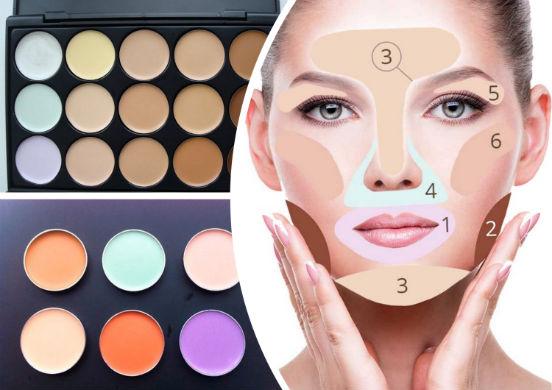 Корректор - декоративное средство целенаправленного действия, применяющееся для макияжа лица