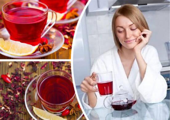 Польза чая каркаде для человеческого организма и как правильно заваривать и в какое время пить напиток