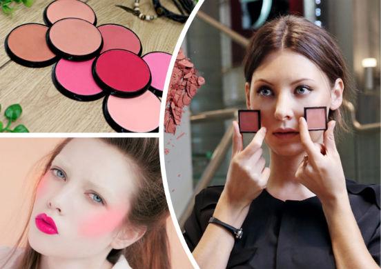 Как правильно подобрать оттенок румян, ориентируясь на свой цвет кожи, волос и глаз?