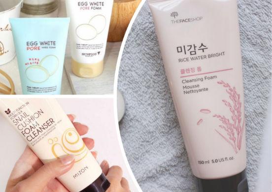 Корейские пенки - самые щадящие средства для умывания или как тщательно, но мягко очистить кожу лица?