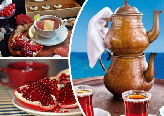 Гранатовый чай из Турции - живительный напиток, обладающий не только приятным вкусом, но и полезными свойствами для организма человека