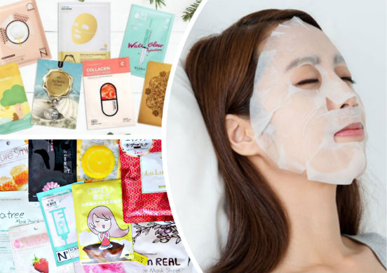 Корейские тканевые маски - косметические средства по уходу за кожей лица на основе уникальной технологии