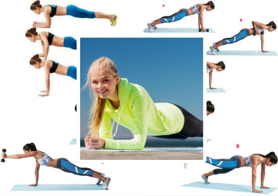 Как правильно делать упражнение планка в домашних условиях
