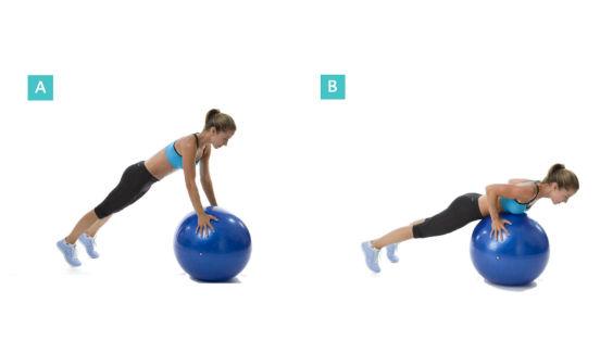 Упражнения на фитболе для похудения или как обрести стройную фигуру с помощью резинового мяча