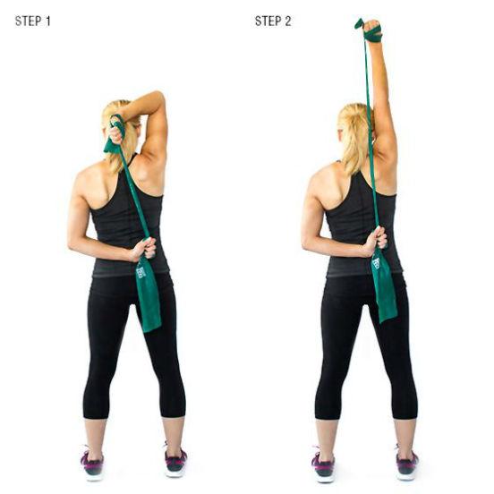 ТОП-20 упражнений с эластичной лентой или как укрепить мышцы всего тела и заметно похудеть