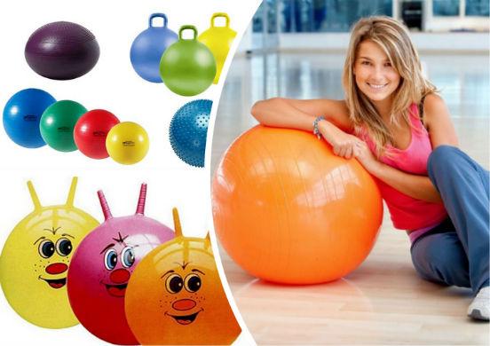 похудение с помощью мяча