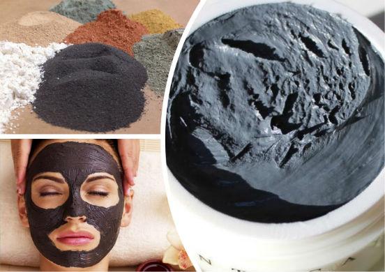 Черная глина - уникальное вещество, используемое в масках для лица со времен Древнего Египта