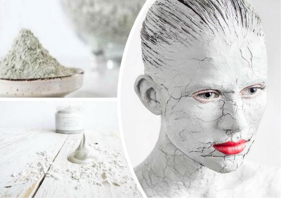 Маски с белой глиной для лица - универсальное средство, помогающее избавиться от прыщей и морщин