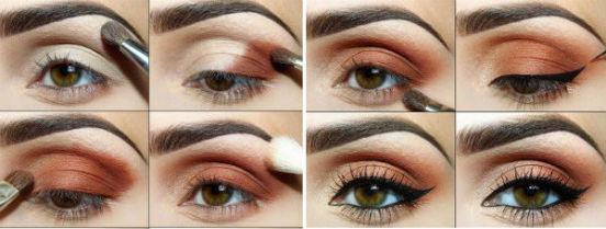 Как правильно наносить тени на веки, учитывая свой разрез и форму глаз?
