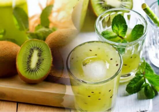 Сок из киви - целебный напиток, который продляет молодость и красоту
