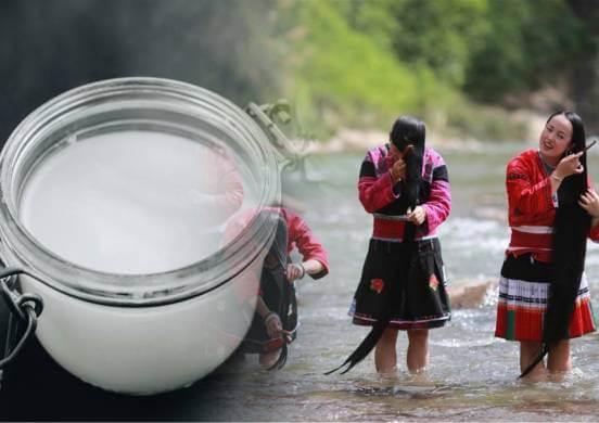 Рисовая вода - древнекитайский секрет обретения густых и длинных волос