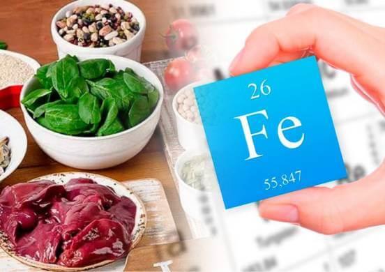 Список продуктов с высоким содержанием железа. Восполняем микроэлемент с помощью пищи