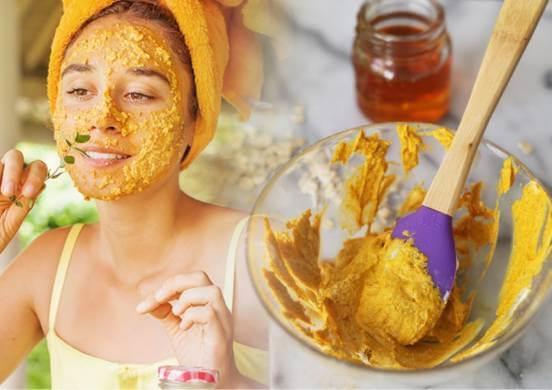маски с куркумой для лица